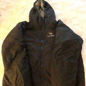 Men's arcteryx synthetic jacket.
